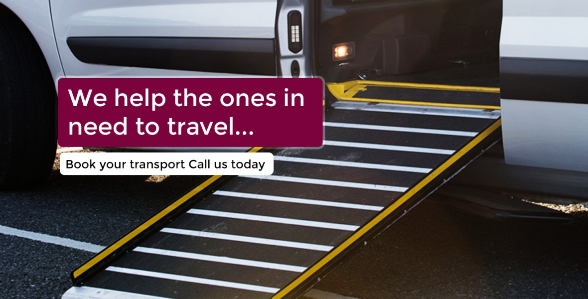 Reading Taxis - Transport for Disabled - Reading to Heathrow